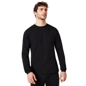 Oakley Tee College Long Sleeve - Blackout