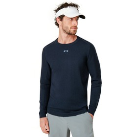 Oakley Light Knit Crewneck - Foggy Blue