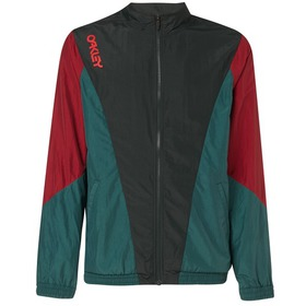 Oakley Nylon Track Jacket - Dull Onyx