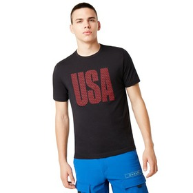 Oakley USA Allover Tee - Blackout