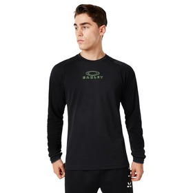 Oakley Enhance Long Sleeve Crew 9.7 - Blackout