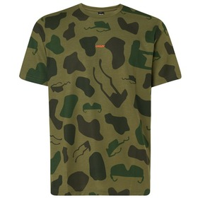 Oakley Allover Sunglass Tee - Camou Green