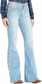 Wrangler Modern High-Rise Flare Patch