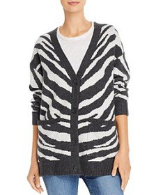 FRENCH CONNECTION - Tomasa Animal-Print Cardigan