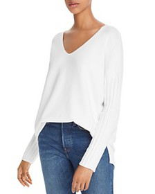 FRENCH CONNECTION - Vhari Ribbed-Sleeve Sweater