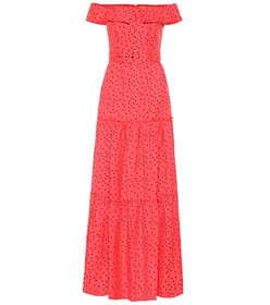 Rebecca Vallance Holliday linen-blend maxi dress