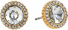 Fossil Iridescent Glitz Stud Earrings