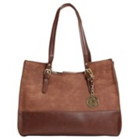 BUENO Bueno Perforated Buckle Strap Tote with Flow