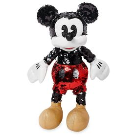 Disney Mickey Mouse Reversible Sequin Plush – Smal