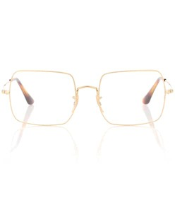 Ray-Ban Square metal glasses