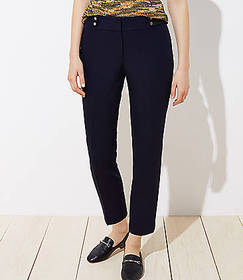 Tall Stud Tab Slim Pencil Pants in Julie Fit