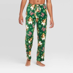 Men's Elf Pajama Pants - Green