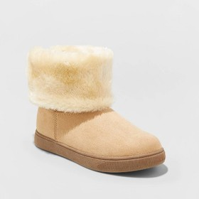 Girls' Liah Convertible Shearling Boots - Cat & Ja