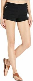 MICHAEL Michael Kors Terry Lace-Up Side Shorts Cov