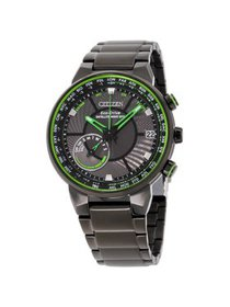 Citizen Satellite Wave GPS Black Dial Stainless St