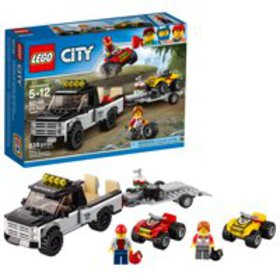 LEGO City ATV Race Team 60148 Building Kit with To