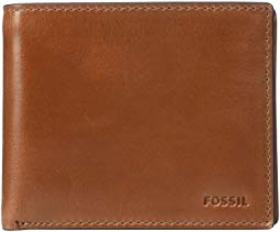Fossil Hugh Large Coin Pocket Bifold