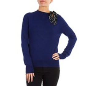 BEBE Long Sleeve Sweater with Keyhole Accent
