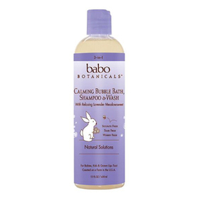 Babo Botanicals Calming Baby 3-in-1: Bubble Bath,