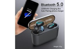 Wireless Bluetooth Earbuds with Mic, Hands-free In