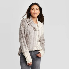 Women's Cowl Neck Pullover Sweater - Knox Rose™ Gr