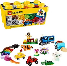 LEGO Classic Medium Creative Brick Box 10696 Build