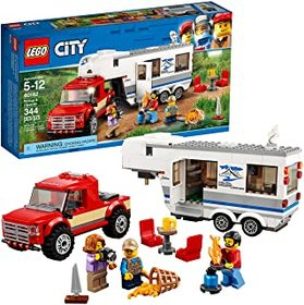 LEGO City Pickup & Caravan 60182 Building Kit (344