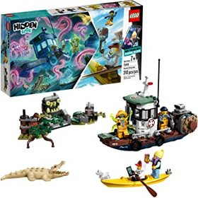 LEGO Hidden Side Wrecked Shrimp Boat 70419 Buildin