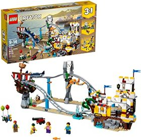 LEGO Creator 3in1 Pirate Roller Coaster 31084 Buil