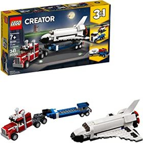 LEGO Creator 3in1 Shuttle Transporter 31091 Buildi