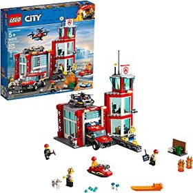 LEGO City Fire Station 60215 Fire Rescue Tower Bui