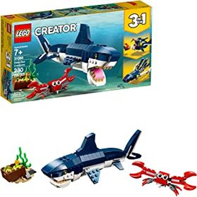LEGO Creator 3in1 Deep Sea Creatures 31088 Make a