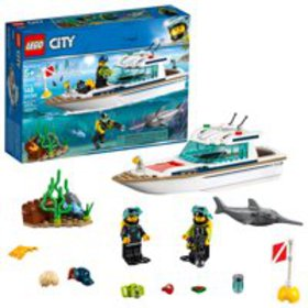 LEGO City Great Vehicles Diving Yacht 60221 Ship M