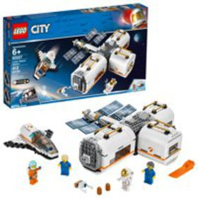 LEGO City Space Lunar Space Station 60227 Building