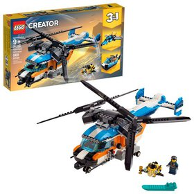 LEGO Creator Twin-Rotor Helicopter 31096 Toy Helic