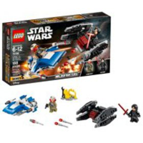 LEGO Star Wars A-Wing vs. TIE Silencer Microfighte