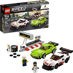LEGO Speed Champions Porsche 911 RSR and 911 Turbo