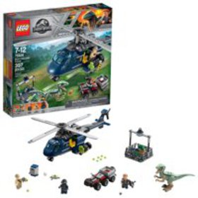 LEGO Jurassic World Blue's Helicopter Pursuit 7592