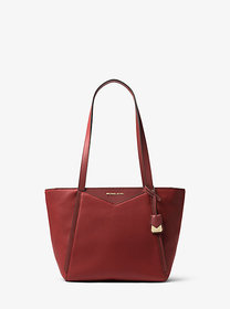 Michael Kors Whitney Small Pebbled Leather Tote Ba
