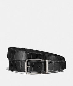 Coach harness buckle belt, 30mm