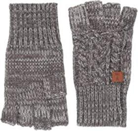 Frye Marled Cable Gloves