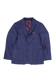 Isaac Mizrahi Textured Plaid Blazer (Big Boys)