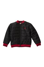 True Religion Quilted Bomber (Toddlers & Little Bo