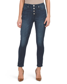 SEVEN7 Ultra High Rise Ankle Skinny Jeans