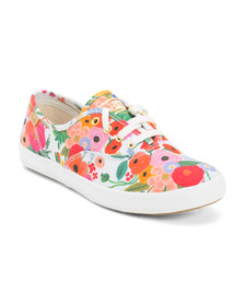 KEDS Printed Canvas Sneakers (Little Kid, Big Kid)
