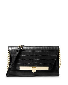 MICHAEL Michael Kors - Bekah Medium Croc-Embossed