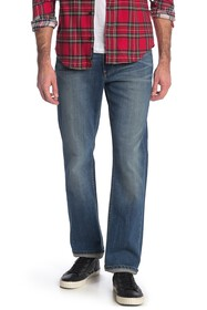 PAIGE Normandie Straight Fit Jeans
