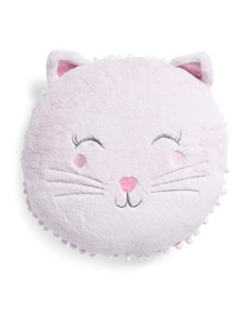 ISAAC MIZRAHI Happy Cat Pillow