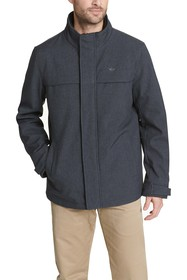 Dockers Soft Shell Stand Collar Zip Front Jacket