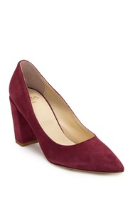 Butter Kay Block Heel Pump